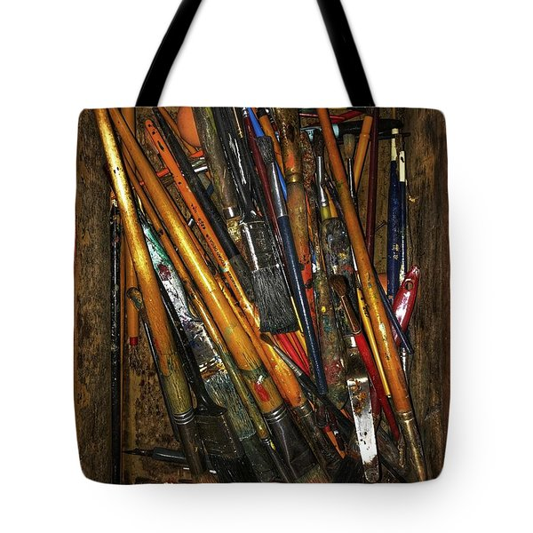 Tools Of The Painter Tote Bag by Jame Hayes