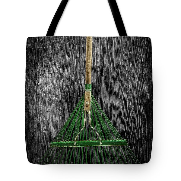 Tote Bag featuring the photograph Tools On Wood 10 On Bw by YoPedro
