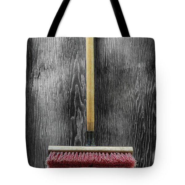 Tote Bag featuring the photograph Tools On Wood 14 On Bw by YoPedro