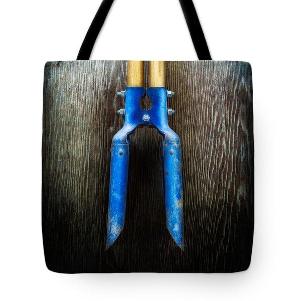 Tools On Wood 24 Tote Bag