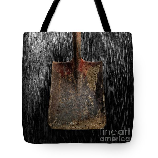 Tote Bag featuring the photograph Tools On Wood 4 On Bw by YoPedro