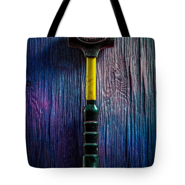 Tools On Wood 44 Tote Bag
