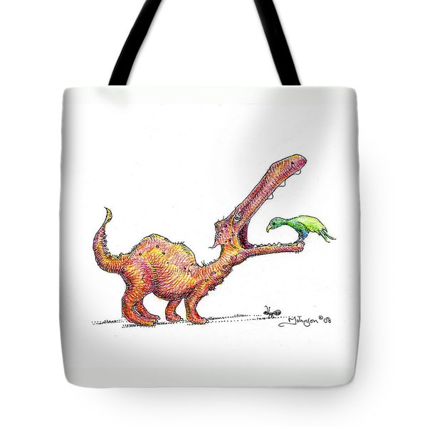 Toothache Tote Bag by Mark Johnson