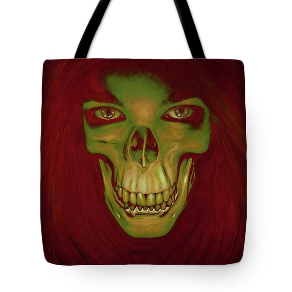 Toothy Grin Tote Bag by Matt Lindley