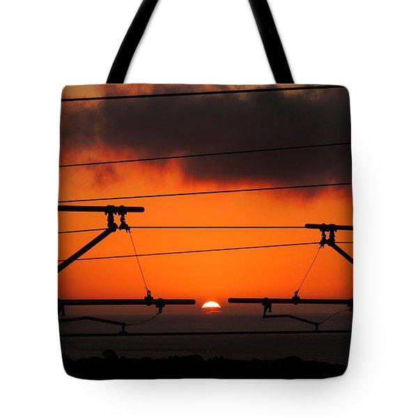 Top Notch Spot Tote Bag by Linda Hollis