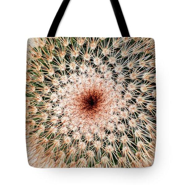 Top Of Cactus Tote Bag