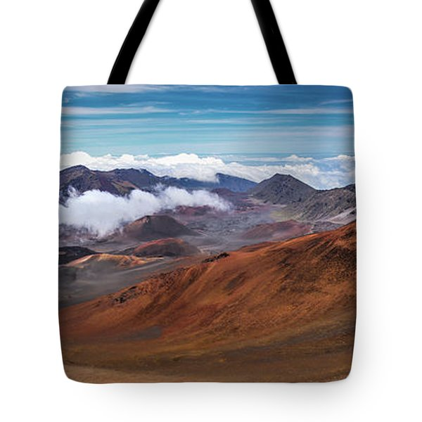 Top Of Haleakala Crater Tote Bag