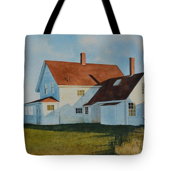 Top Of Monhegan Tote Bag