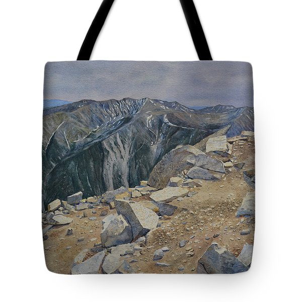 Top Of Mt. Princeton Tote Bag
