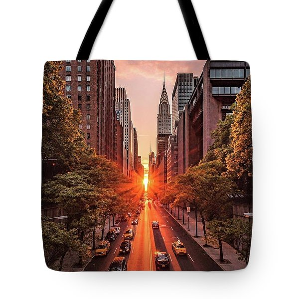 Top Of New York Tote Bag