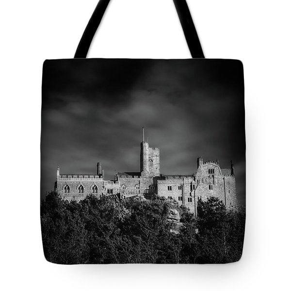 Top Of St Michaels Mount Tote Bag