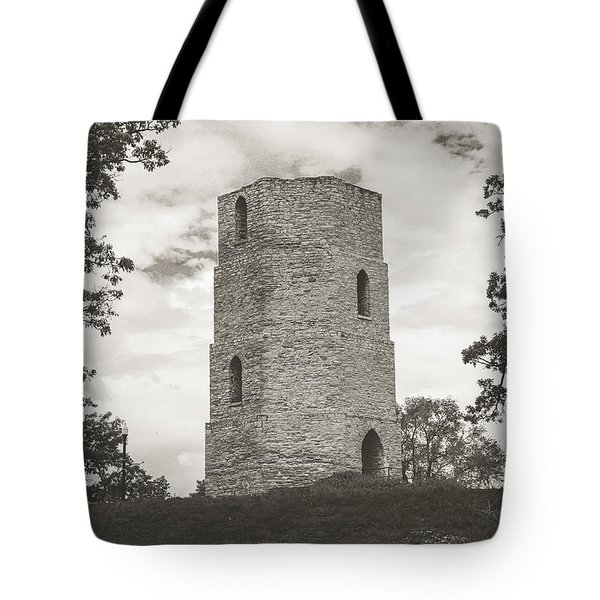Top Of The Hill Tote Bag
