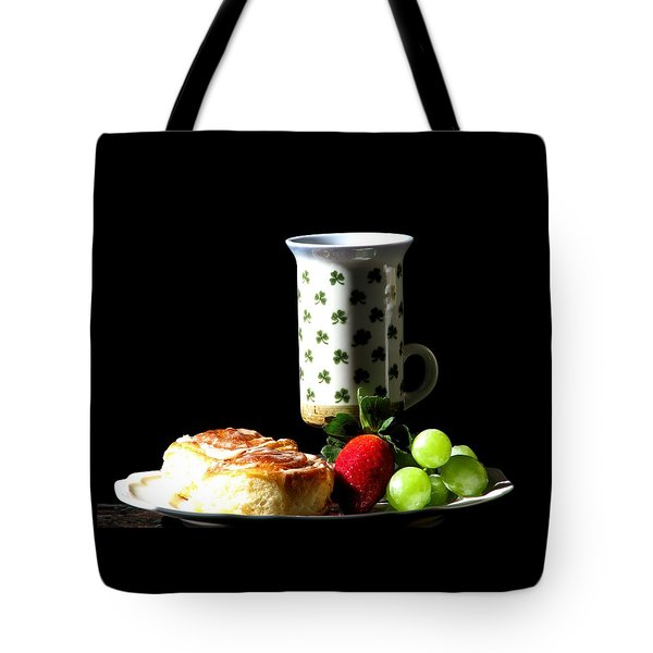 Top Of The Morning Tote Bag by Angela Davies