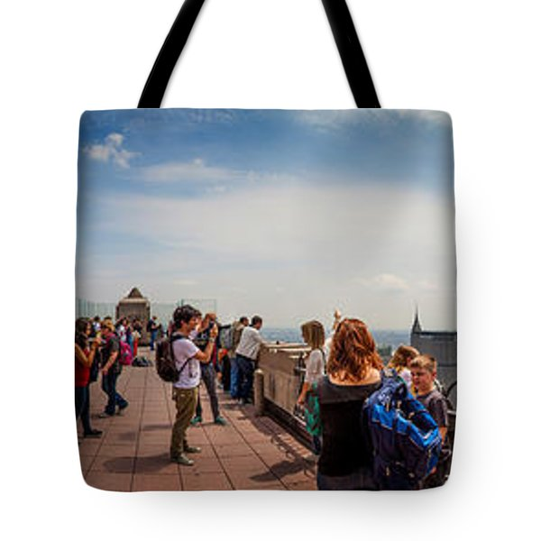 Top Of The Rock Experience Tote Bag