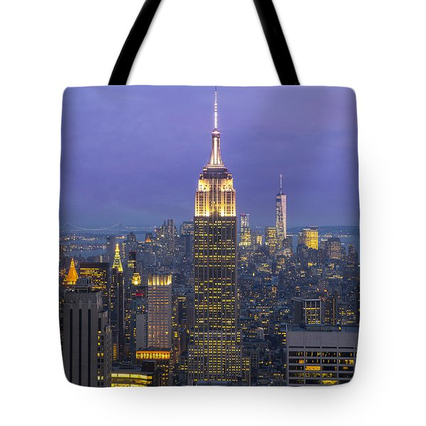 Tote Bag featuring the photograph Top Of The Rock by Keith Kapple