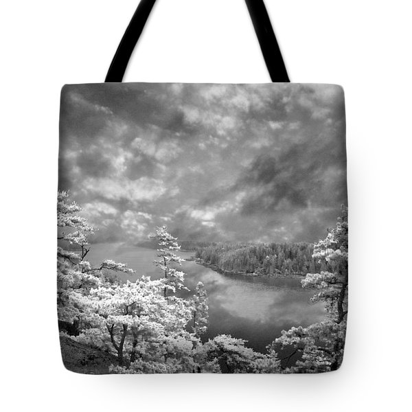 Top Of Tip Toe Mountain, Vinalhaven, Maine Tote Bag