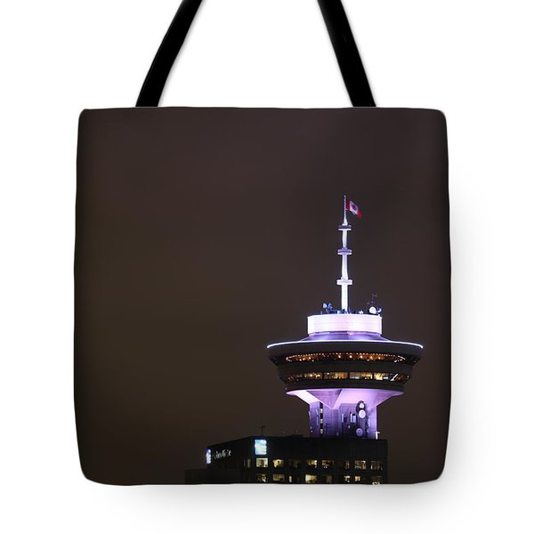 Top Of Vancouver Restaurant Tote Bag
