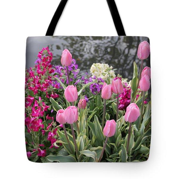 Top View Planter Tote Bag