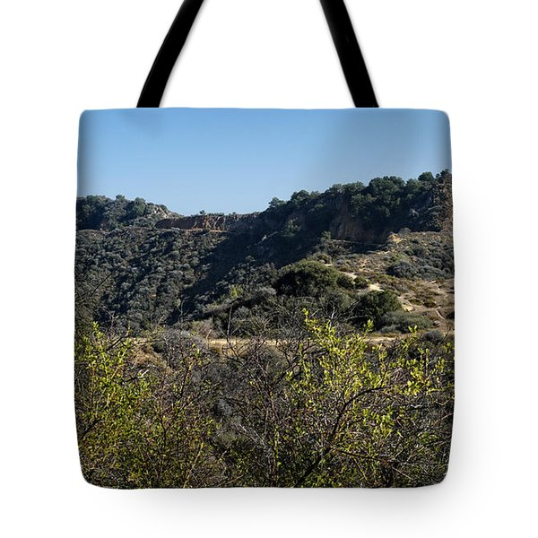 Topanga Canyon Trail Tote Bag