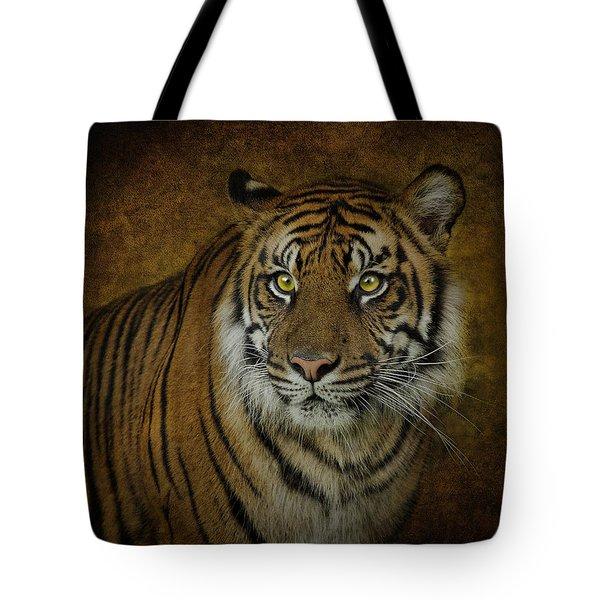 Topaz Tiger  Tote Bag