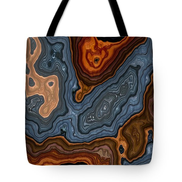 Topo 3 111415 Tote Bag by Matt Lindley