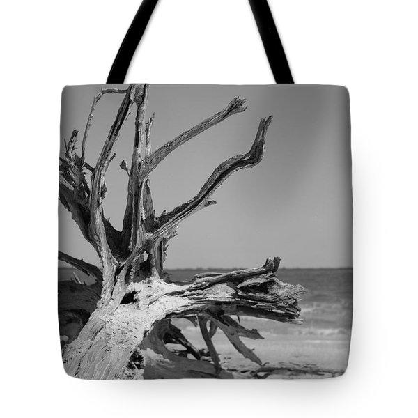 Toppled Tree Tote Bag