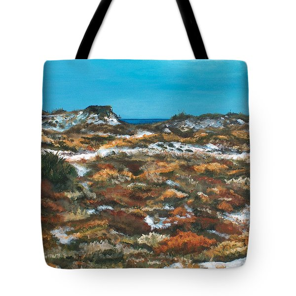 Topsail Hill Dunes Tote Bag