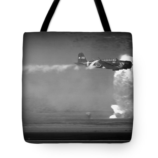 Tote Bag featuring the photograph Tora, Tora, Tora At The Reno Air Races by John King
