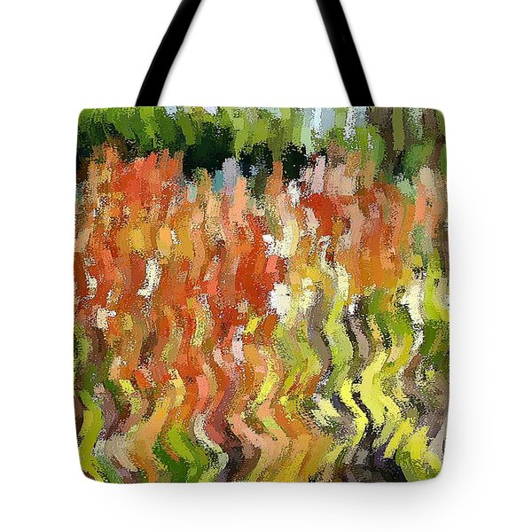 Torch Lilies Tote Bag