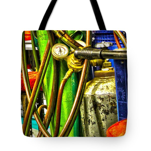 Torch Me Tote Bag