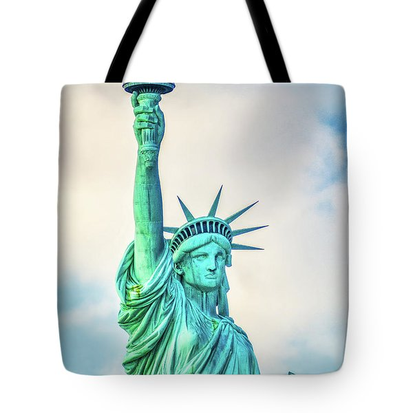 Tote Bag featuring the photograph Torch Of Liberty by Nick Zelinsky