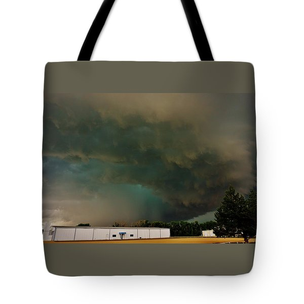 Tornadic Supercell Tote Bag