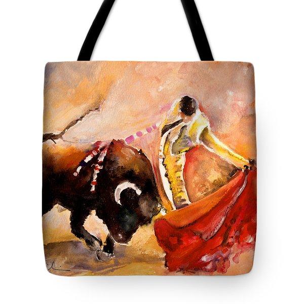 Toro Acuarela Tote Bag