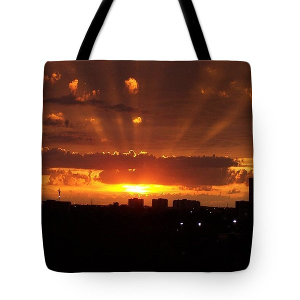 Toronto - Just One Breathtaking Sunset Tote Bag