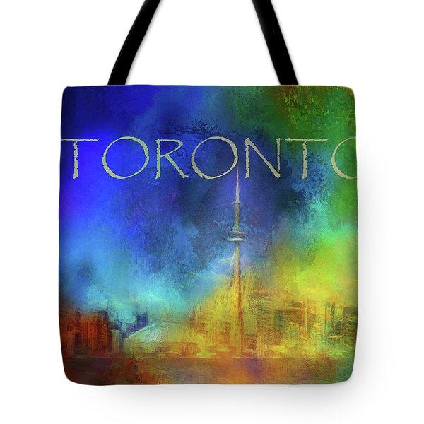Toronto - Cityscape Tote Bag