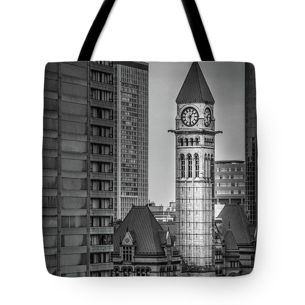 Toronto Courthouse Clock Tower Tote Bag