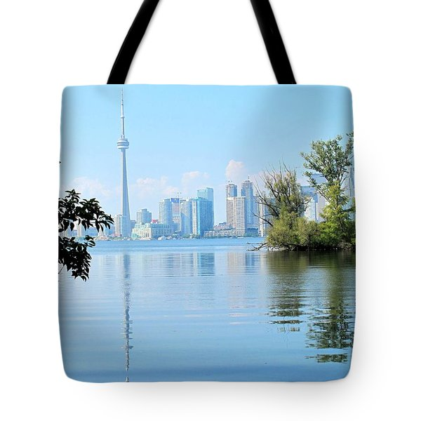 Toronto From The Islands Park Tote Bag