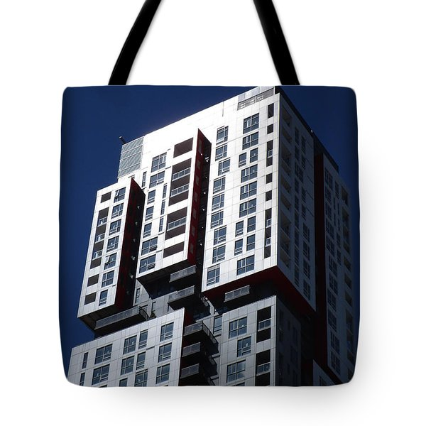 Toronto Skyscrapers 6 Tote Bag by Randall Weidner