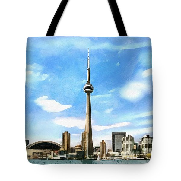 Toronto Waterfront - Canada Tote Bag