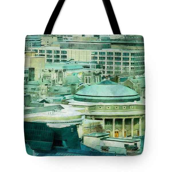 Toronto Window View Tote Bag