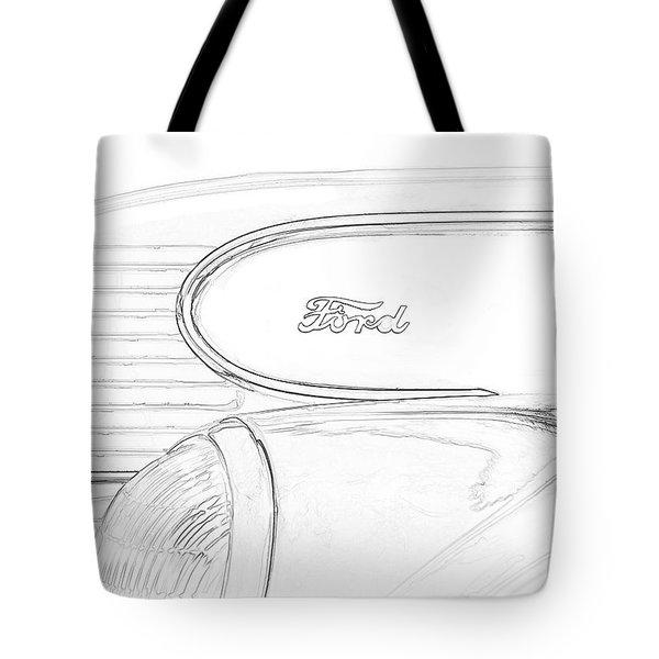 Torpedo Ford Tote Bag
