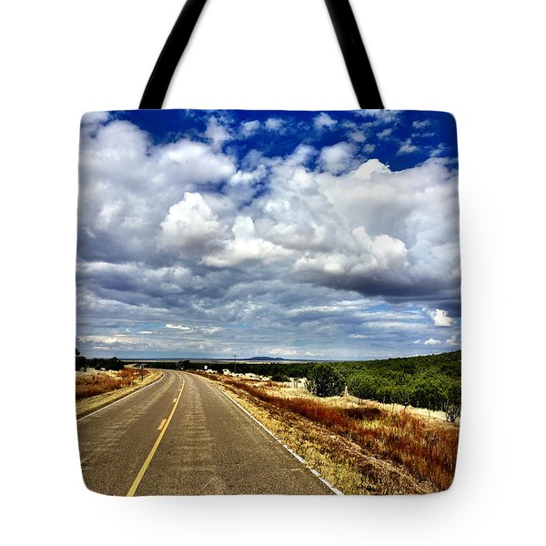 Torrance County Clouds Tote Bag