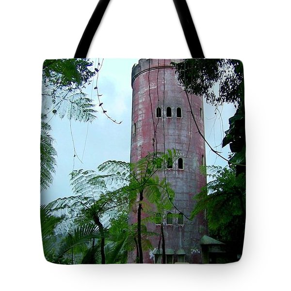 Torre De Observacion Yokahu  Tote Bag