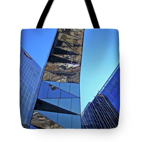 Torre Mare Nostrum - Torre Gas Natural Tote Bag by Juergen Weiss