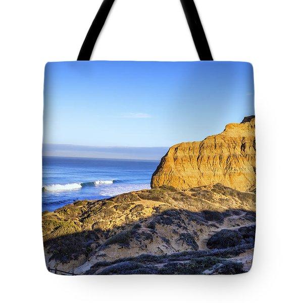 Torrey Pines Morning Tote Bag