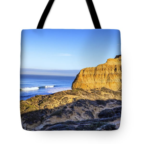 Torrey Pines Morning Tote Bag