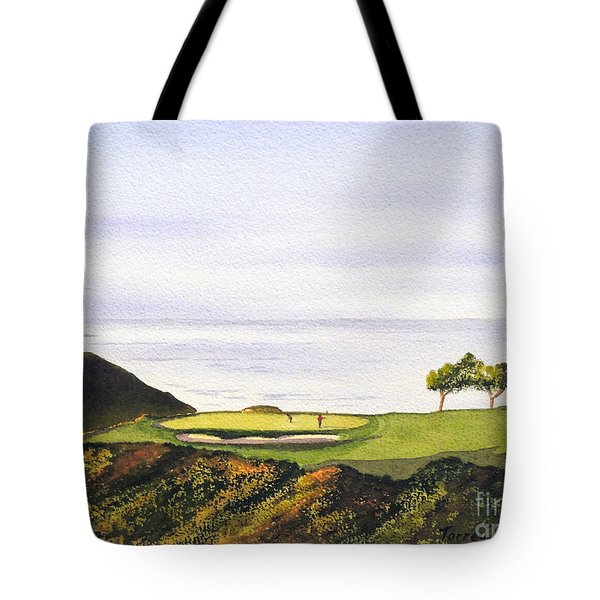 Torrey Pines South Golf Course Tote Bag