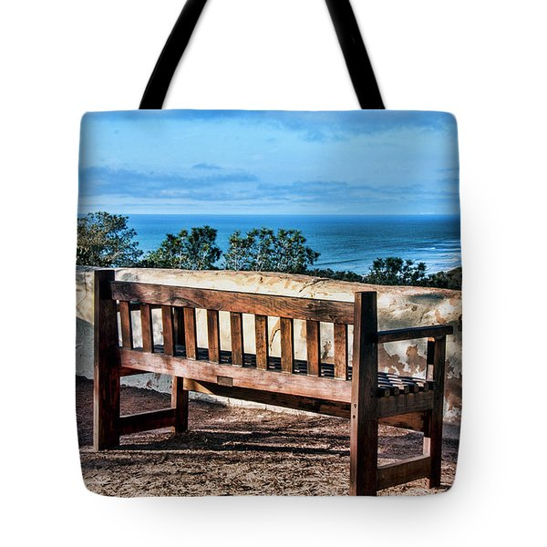 Torrey Pines View Tote Bag by Daniel Hebard