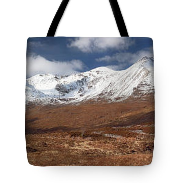 Tote Bag featuring the photograph Torridon Panorama by Grant Glendinning