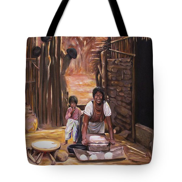 Tortillas De Madre Tote Bag